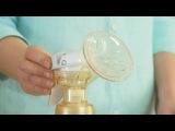 Philips AVENT: Сборка двойного ручного молокоотсоса