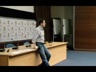 Мастер-класс Максима Спиридонова «Предпринимательство в высоких технологиях и интернете»